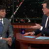 M. Night Shyamalan appears on 'Late Show with Stephen Colbert'