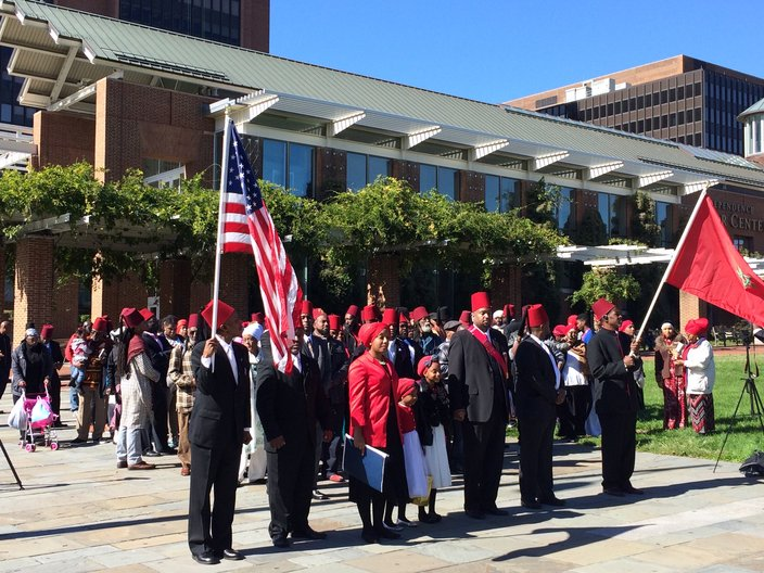 Moorish-Americans observe remembrance day on Independence Mall