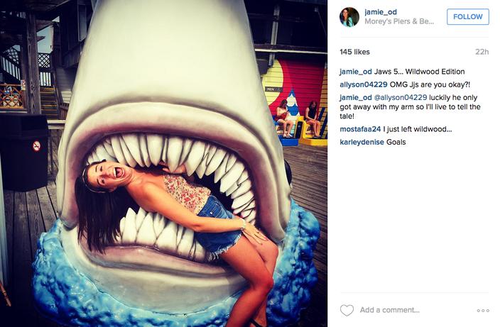 Moreys pier shark