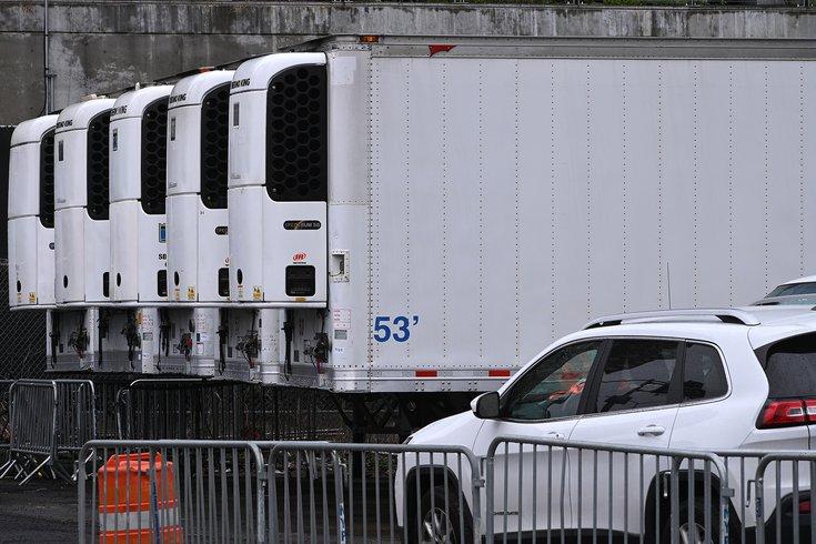morgue trucks coronavirus refrigerated