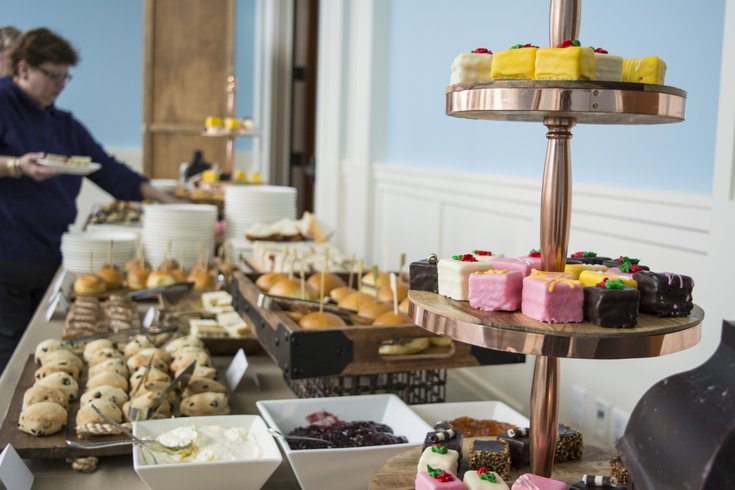 Mother's Day tea at the Museum of the American Revolution