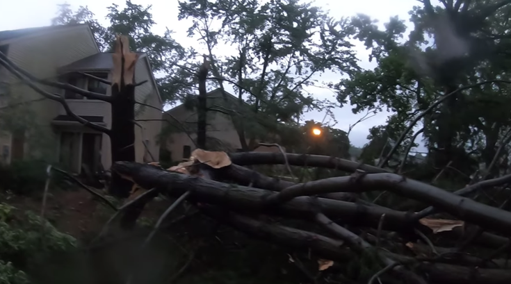 Mount Laurel tornado july 11