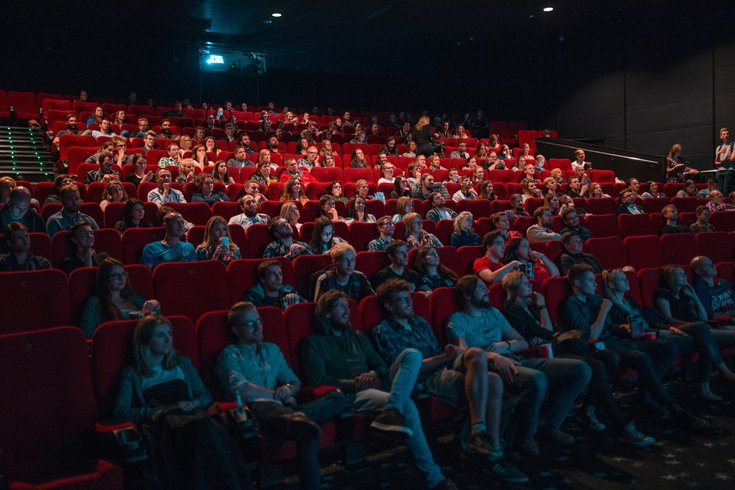Watching a movie in the theater may be good for you