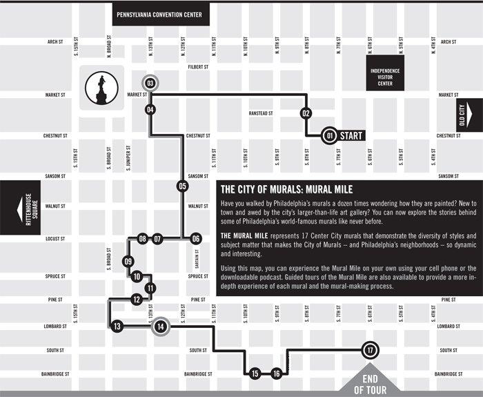 Mural Mile Map