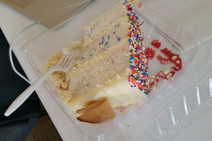 Funfetti cake from Bud & Marilyn's.