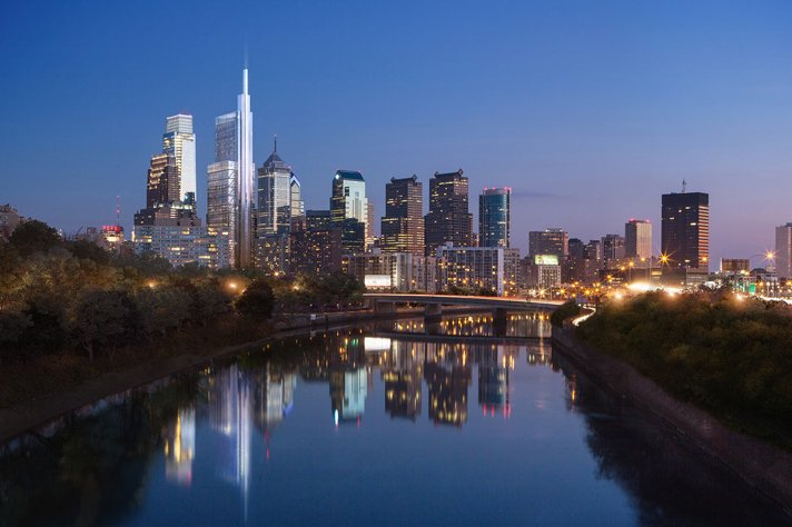 The Comcast Innovation and Technology Center