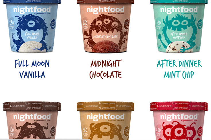 night food ice cream