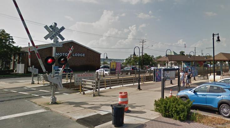 NJ Transit belmar station