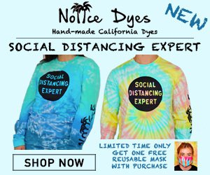 Limited - Noiice Dyes Social Distancing Expert Ad
