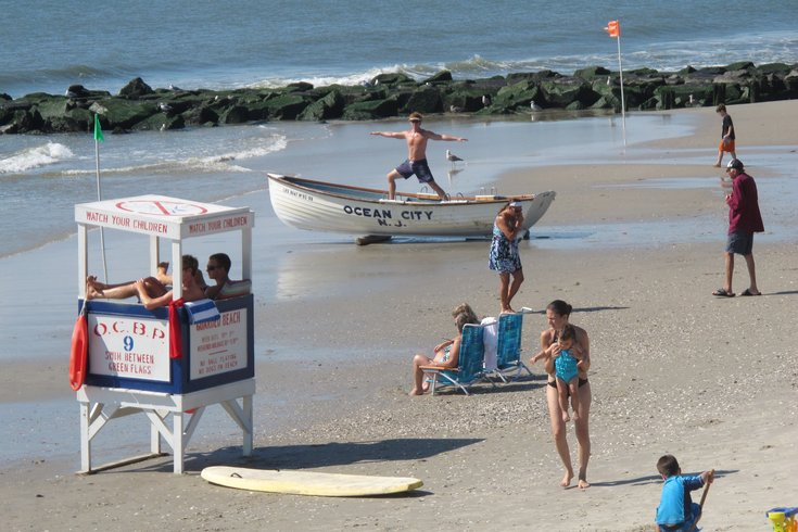 ocean city lifeguard