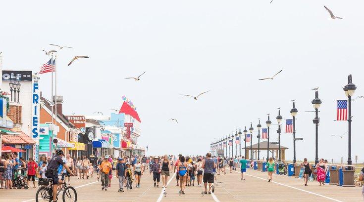 Ocean City close boardwalk