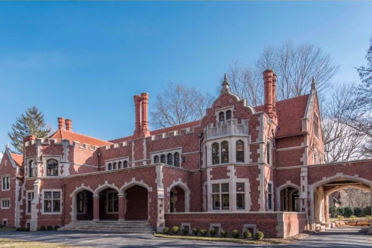 check out this 19th century mansion for sale in delco
