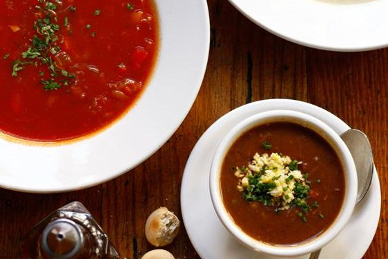 Oyster House soups