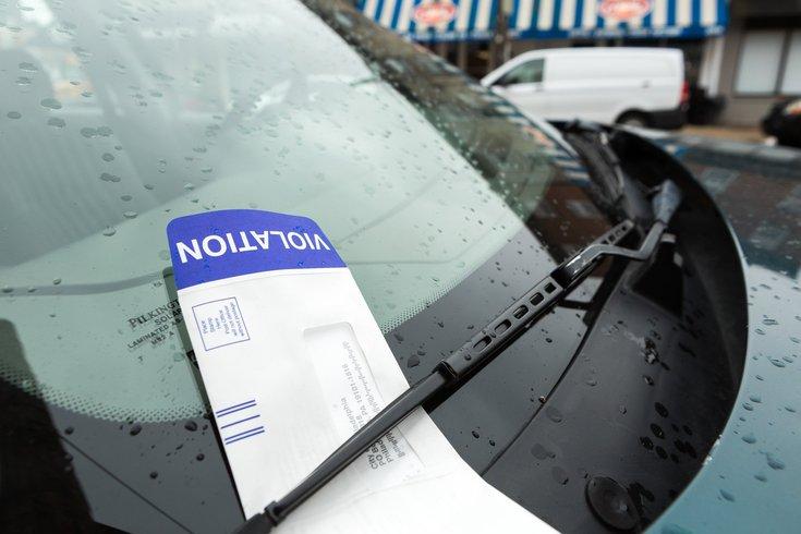 Philadelphia parking authority tickets