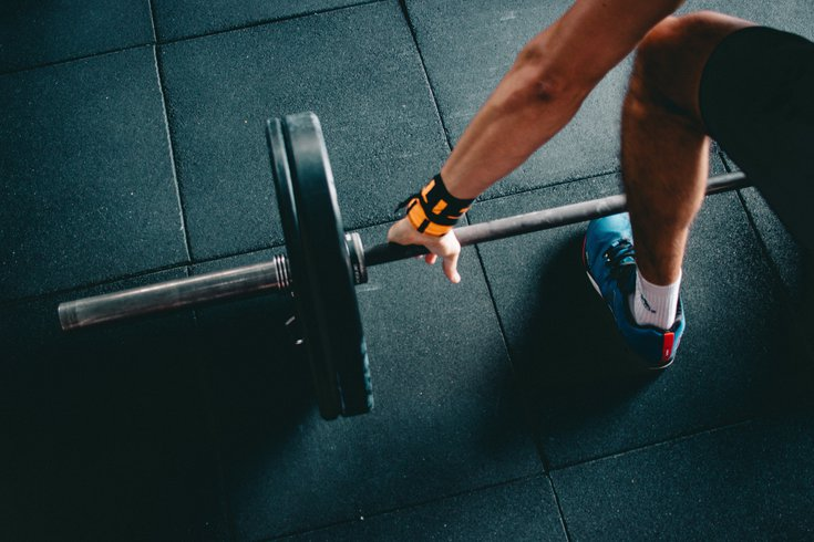 Lifting weights off the ground