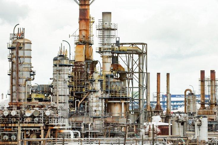 Philadelphia Energy Solutions refinery shot