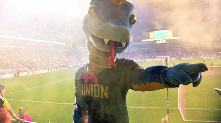 Philadelphia Union Mascot Phang