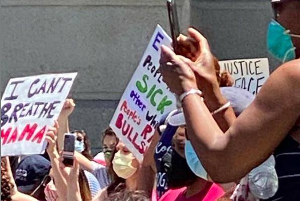 philadelphia protest city hall