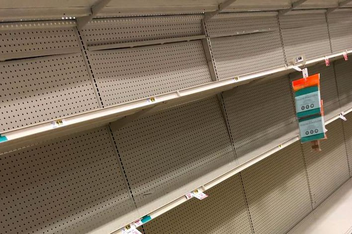 Philly grocery stores restock