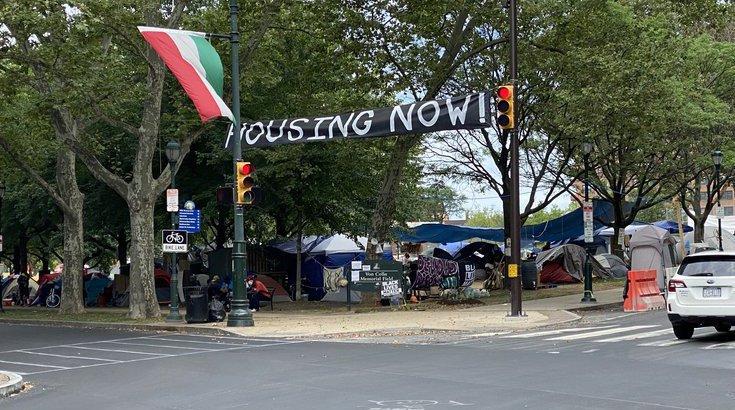 philly homeless encampments agreement