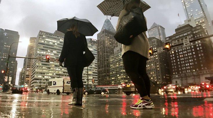 Rainy day Philly