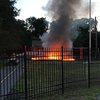 Camden County playground fire