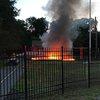 Camden County playground fire