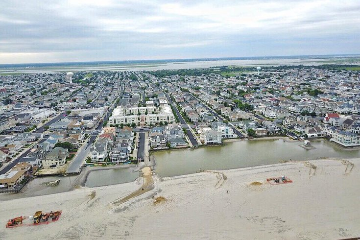 Margate official: Dune-building work creating 'cesspools' on