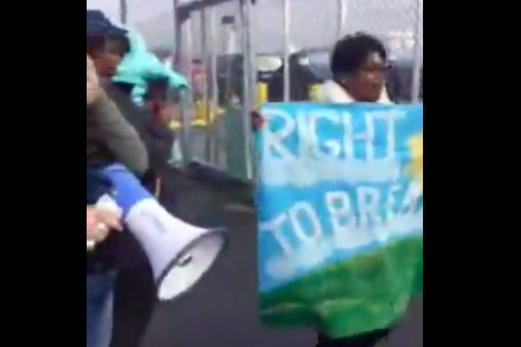 South Philly Refinery Protest