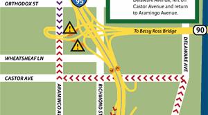 I-95 ramp closure
