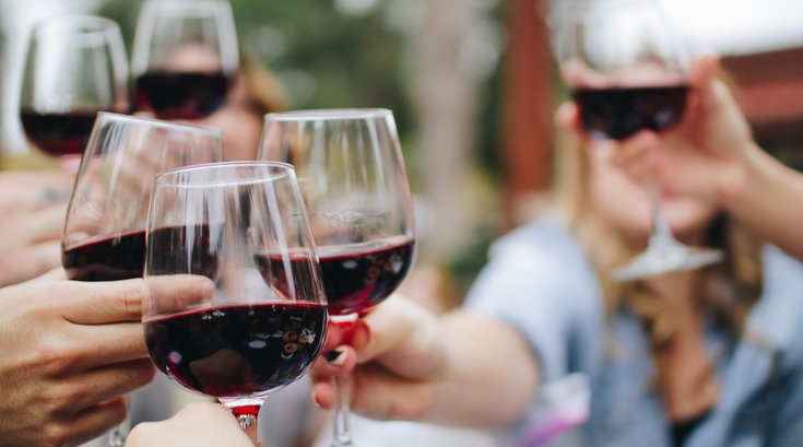 Red wine gut bacteria study