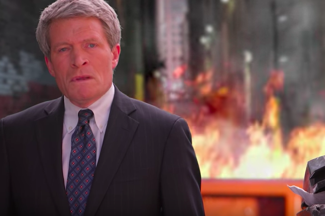 Richard Painter Dumpster Fire
