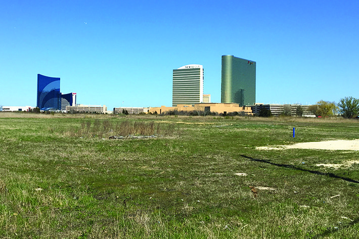 Atlantic City land sale