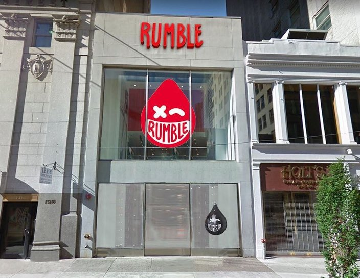 rumble boxing philly rendering