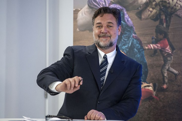 Russell Crowe taxes pennsylvania
