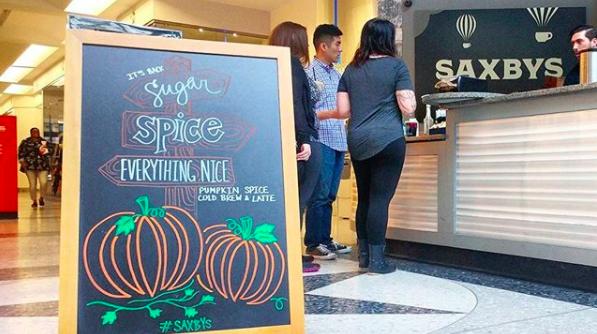 Saxbys Pumpkin Spice
