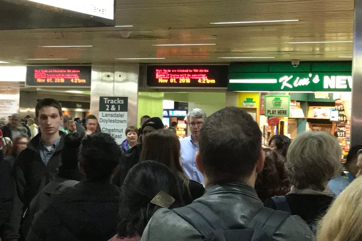 SEPTA strike Jefferson Station