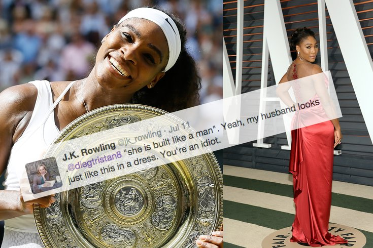 Serena Williams Womanhood