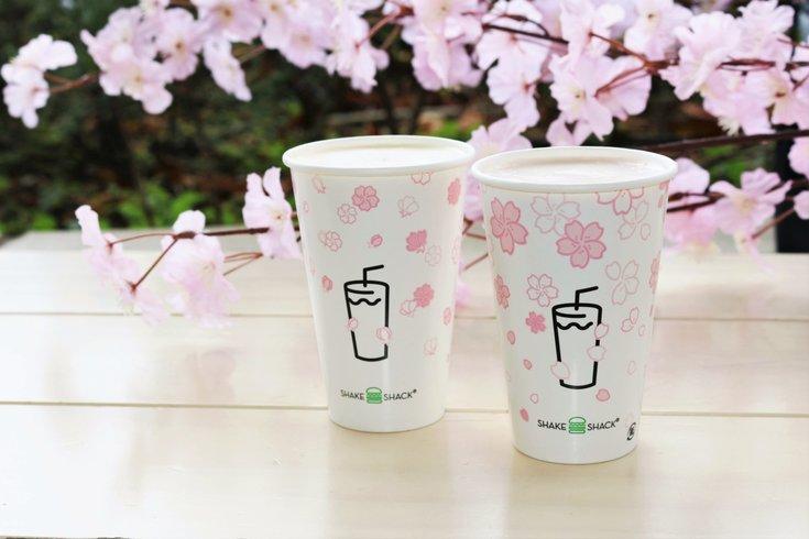 Cherry Blossom shake shack