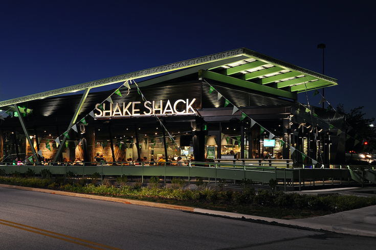 Captivating King Of Prussia Shake Shack