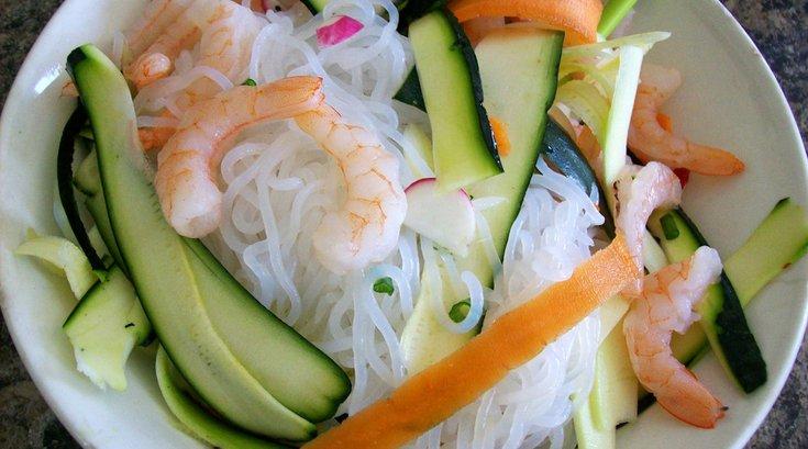 shirataki noodles flickr