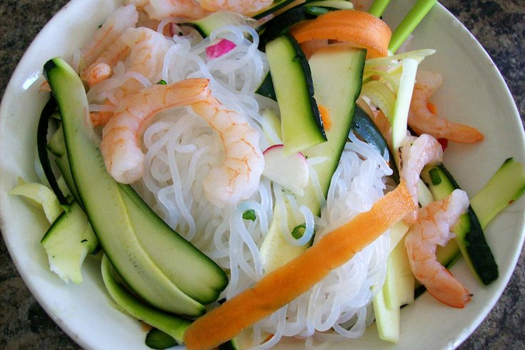shirataki noodles flickr