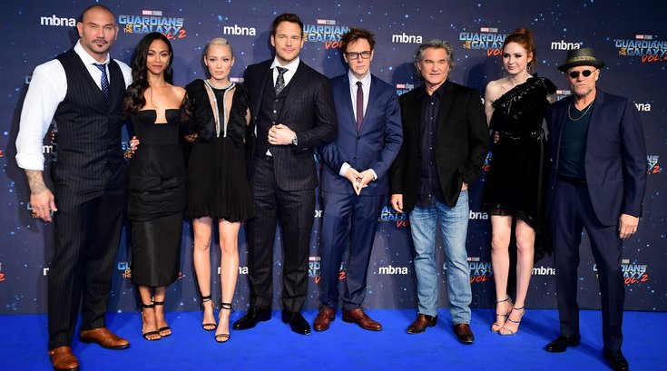 European Premiere of Guardians of the Galaxy Vol. 2 - London