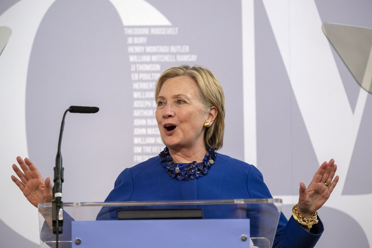 Hillary Clinton to produce new series with Steven Spielberg about the Suffragette movement