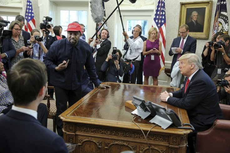 Heres Who Trump Invited To White House >> Kanye West Visited President Trump In The White House And Here S