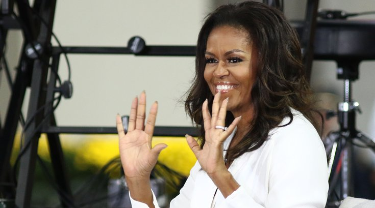 michelle obama becoming tour nyc