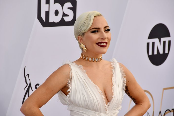 Lady Gaga arrives at the 25th annual Screen Actors Guild Awards
