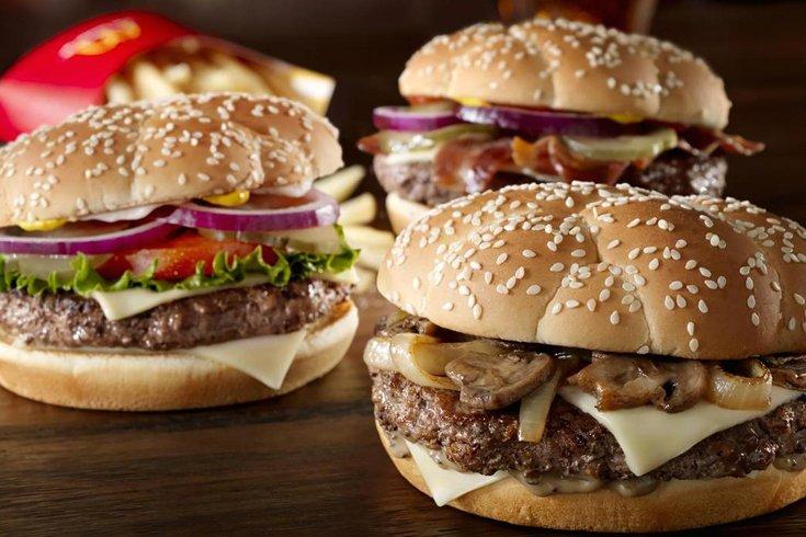 Sirloin Burger McDonald's