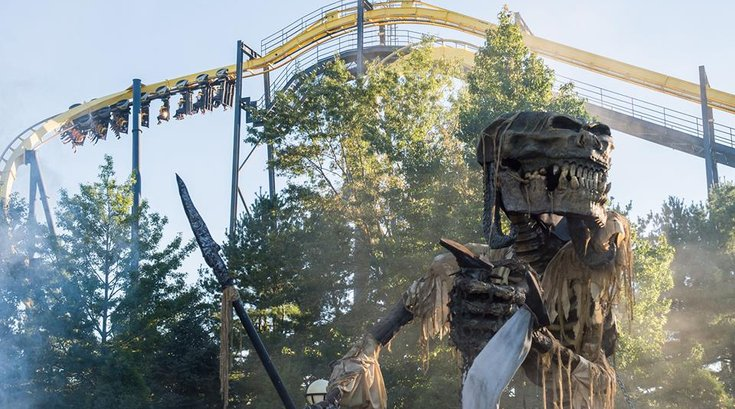 six flags halloween