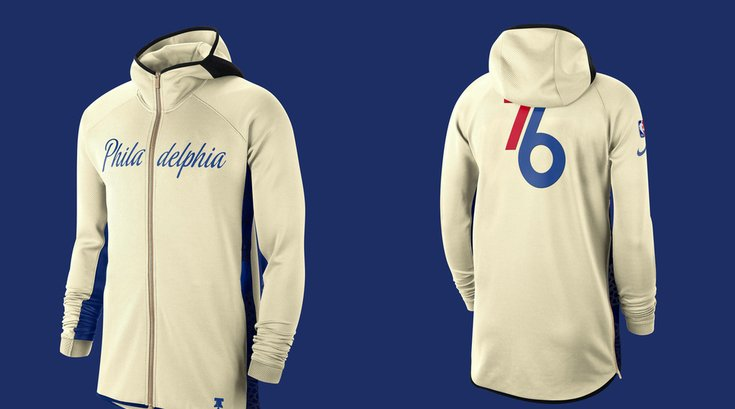 Sixers earned edition 2020 hoodie